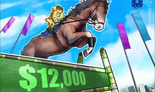Bitcoin Price Tackles $12,000