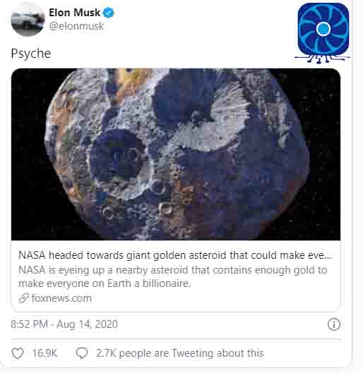 Elon Musk space extraction