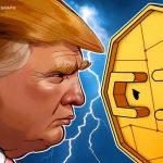 Predicting digital currencies against Trump